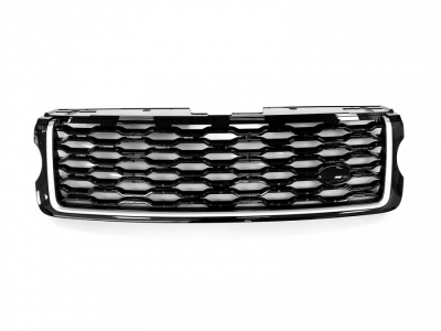 2018 Style Range Rover Vogue L405 Black/Silver Front Grille (For 2014-2017 cars)